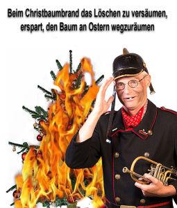 Brennender Tannenbaum + Text_KLEIN